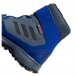 Buty adidas Terrex Snow Cf Cp Cw Jr G26579 niebieskie wielokolorowe 4