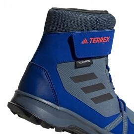Buty adidas Terrex Snow Cf Cp Cw Jr G26579 niebieskie wielokolorowe 5