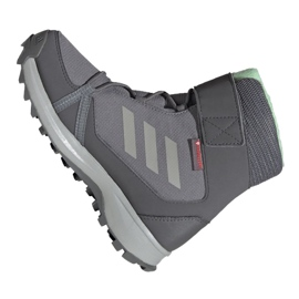 Buty adidas Terrex Snow Cf Cp Cw Jr G26580 szare 2