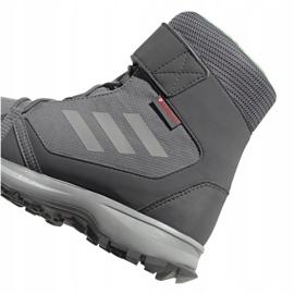 Buty adidas Terrex Snow Cf Cp Cw Jr G26580 szare 3