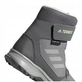 Buty adidas Terrex Snow Cf Cp Cw Jr G26580 szare 4