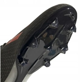 Buty piłkarskie adidas X 19.2 Fg M EF8364 szare zielony 5