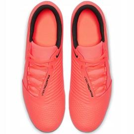 Buty piłkarskie Nike Phantom Venom Club Fg M AO0577 810 pomarańczowe biały, pomarańczowy 1
