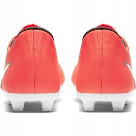Buty piłkarskie Nike Phantom Venom Club Fg M AO0577 810 pomarańczowe biały, pomarańczowy 4