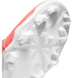 Buty piłkarskie Nike Phantom Venom Club Fg M AO0577 810 pomarańczowe biały, pomarańczowy 5