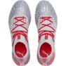 Buty piłkarskie Puma Future 4.1 Netfit Fg Ag M 105579 01 czerwony, szary/srebrny szare 1