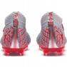 Buty piłkarskie Puma Future 4.1 Netfit Fg Ag M 105579 01 czerwony, szary/srebrny szare 5