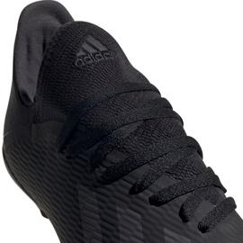 Buty piłkarskie adidas X 19.3 Fg Jr F35364 czarny czarne 2