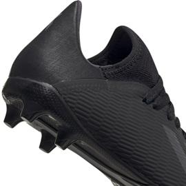 Buty piłkarskie adidas X 19.3 Fg Jr F35364 czarny czarne 4