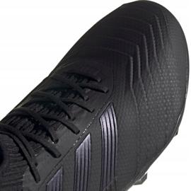 Buty piłkarskie adidas Predator 19.2 Fg M F35603 czarne czarne 2