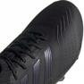 Buty piłkarskie adidas Predator 19.2 Fg M F35603 czarny czarne 2