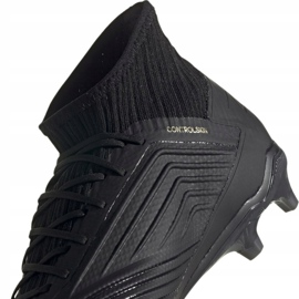 Buty piłkarskie adidas Predator 19.2 Fg M F35603 czarne czarne 4