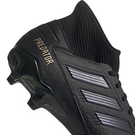 Buty piłkarskie adidas Predator 19.3 Fg M F35594 czarne czarny 3
