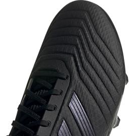 Buty piłkarskie adidas Predator 19.3 Fg M F35594 czarne czarny 4