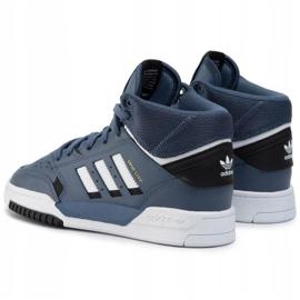 Buty adidas Originals Drop Step Jr EE8757 granatowe 2