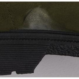 Buty traperki damskie zielone Y260-9 Green Ii Gatunek 5