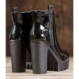Seastar Lakierowane Botki Fashion czarne 1