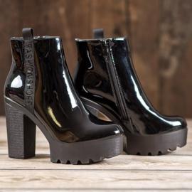 Seastar Lakierowane Botki Fashion czarne 2