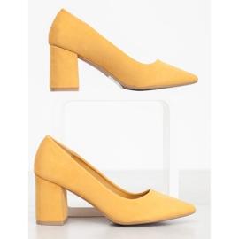 Seastar Eleganckie Czółenka żółte 2