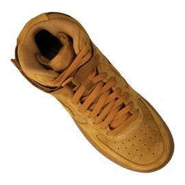 Buty Nike Jr Air Force 1 High Lv 8 Gs Jr 807617-701 żółte 4