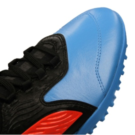 Buty piłkarskie Puma One 19.3 Lth Tt Tr M 105489-01 czarne wielokolorowe 4