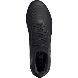 Buty piłkarskie adidas Predator 19.1 Fg M czarne czarne 2