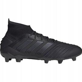 Buty piłkarskie adidas Predator 19.1 Fg M czarne czarne 3