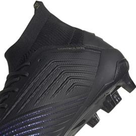 Buty piłkarskie adidas Predator 19.1 Fg M czarne czarne 4