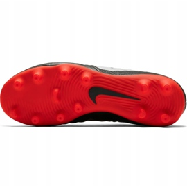 Buty piłkarskie Nike Tiempo Legend 7 Club Mg Jr AO2300 006 czarne wielokolorowe 2