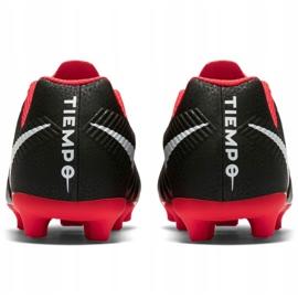 Buty piłkarskie Nike Tiempo Legend 7 Club Mg Jr AO2300 006 czarne wielokolorowe 5