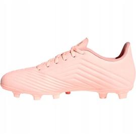 Buty piłkarskie adidas Predator 18.4 M FxG DB2008 różowe różowy 1