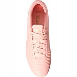 Buty piłkarskie adidas Predator 18.4 M FxG DB2008 różowe różowy 2
