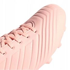 Buty piłkarskie adidas Predator 18.4 M FxG DB2008 różowe różowy 3