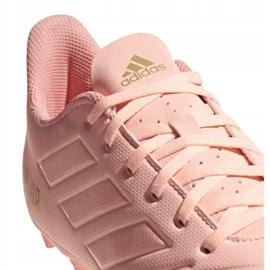 Buty piłkarskie adidas Predator 18.4 M FxG DB2008 różowe różowy 4