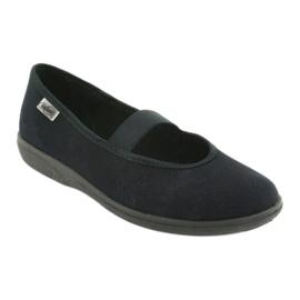 Befado obuwie młodzieżowe pvc 412Q002 czarne 2