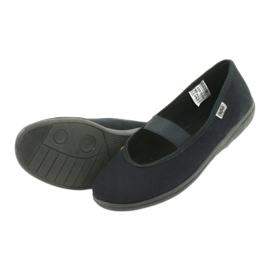 Befado obuwie młodzieżowe pvc 412Q002 czarne 6