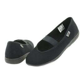 Befado obuwie młodzieżowe pvc 412Q002 czarne 4