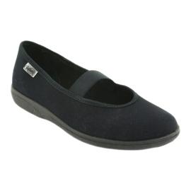 Befado obuwie młodzieżowe pvc 412Q002 czarne 1