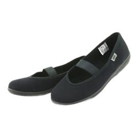 Befado obuwie młodzieżowe pvc 412Q002 czarne 3