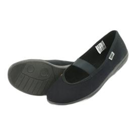 Befado obuwie młodzieżowe pvc 412Q002 czarne 5