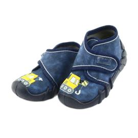 Befado obuwie dziecięce 525P012 niebieskie 4