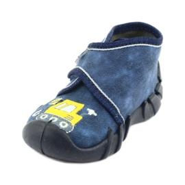 Befado obuwie dziecięce 525P012 niebieskie 3