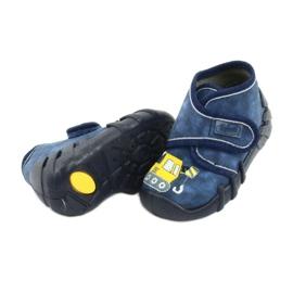 Befado obuwie dziecięce 525P012 niebieskie 5