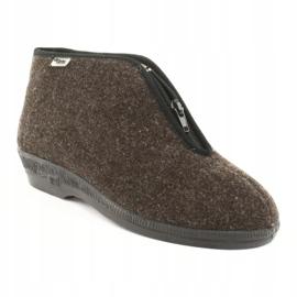 Befado obuwie damskie pu 041D048 wielokolorowe szare 2