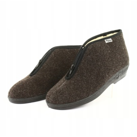 Befado obuwie damskie pu 041D048 wielokolorowe szare 4
