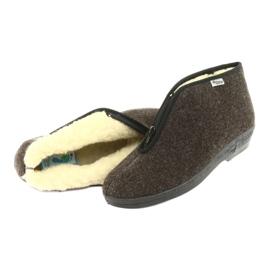 Befado obuwie damskie pu 041D048 wielokolorowe szare 5