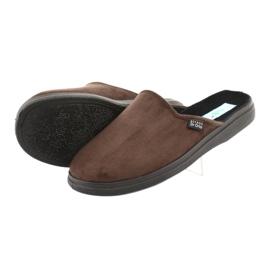 Befado obuwie męskie  pu 125M008 brązowe 5