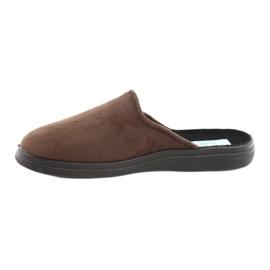 Befado obuwie męskie  pu 125M008 brązowe 3