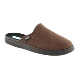 Befado obuwie męskie  pu 125M008 brązowe 2