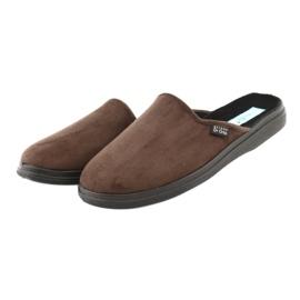 Befado obuwie męskie  pu 125M008 brązowe 4